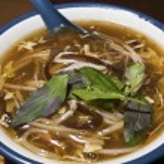 Pork thick soup — Stock Photo