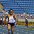Elderly track and field game — Stockfoto