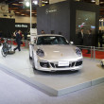 2013 new cars exhibition — Stock Photo #18077653