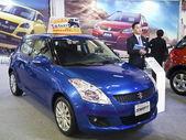 2013 new cars exhibition — Stock Photo