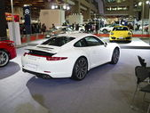 2013 new cars exhibition — ストック写真