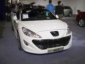 2013 nya bilar utställning — Stockfoto