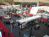 Neue autos-ausstellung 2013 — Stockfoto
