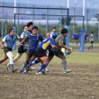 Rugby Football Game Players - Stockfoto