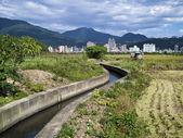 潅漑運河 — ストック写真