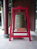 Stary dzwon w świątyni Buddy — Zdjęcie stockowe