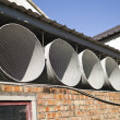Ventilation pipes — Stock Photo