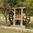 Stock Photo: Wooden waterwheel
