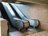 Escalator stairs — Stock fotografie