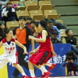High School Basketball Game,HBL — Stok fotoğraf