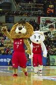 Scuola basket gioco, hbl — Foto Stock