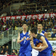 High School Basketball Game,HBL — Stockfoto