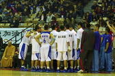 High School Basketball Game,HBL — Stock Photo