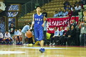 Средней школы баскетбола игры, hbl — Стоковое фото