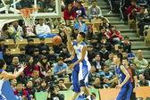 高校バスケット ボール ゲーム, hbl — ストック写真