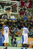 High School Basketball Game,HBL — Foto de Stock