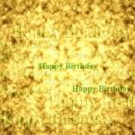 Happy birthday pattern — Stock Photo #26197157