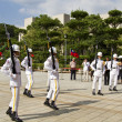 Visitors viewing honor guard of ROC,Taipei,Taiwan — Stock Photo