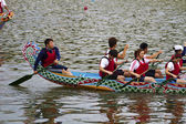 Festival del bote del dragón 2013 taipei — Foto de Stock