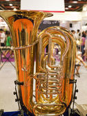 Saxophone fragment — Stock Photo