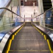 Empty escalator stairs — Foto Stock