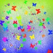 Colorful abstract butterflies — Stock Photo