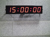 Digital clock — Foto Stock