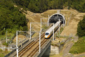 High-speed commuter train — Stock Photo