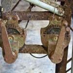 Rusty gear wheel — Stock Photo #37624385