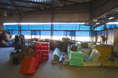 Chicken farm interior — Stockfoto