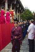 孔子仪式 — 图库照片