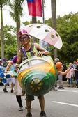 2013 samba dream carnival parade — Stockfoto