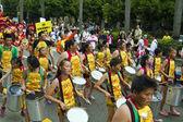 2013 samba dream carnival parade — Stock Photo