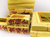 Ghost money (paper money) — Stock Photo