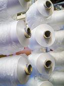 Weaving machine — Stock Photo