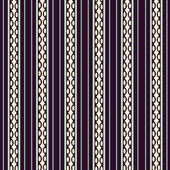 Abstrato geométrico padrão sem costura com linhas — Vetorial Stock