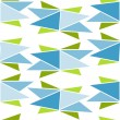 Origami style simple pattern - Stock Vector