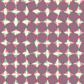 геометрические бесшовный паттерн с красочной площади — Cтоковый вектор