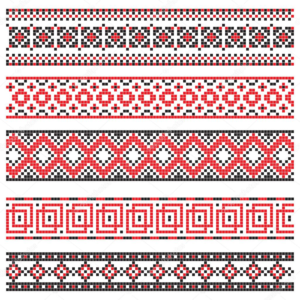 celtic border designs vector