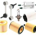 Auto Parts isolated — Stock Photo #35613321
