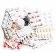 Stock Photo: Tablets and pills isolated on white