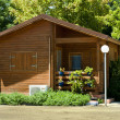Stock Photo: Wooden bungalow