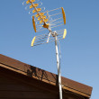 House and antenna — Stock Photo