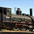 Steam locomotive - Stock Photo