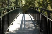 Puente de metal — Foto de Stock