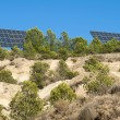 Solar panels on the mountain — Stock Photo #13804673