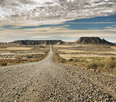 Wild west road — Stock Photo