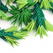 Stock Photo: Paper made pine needles