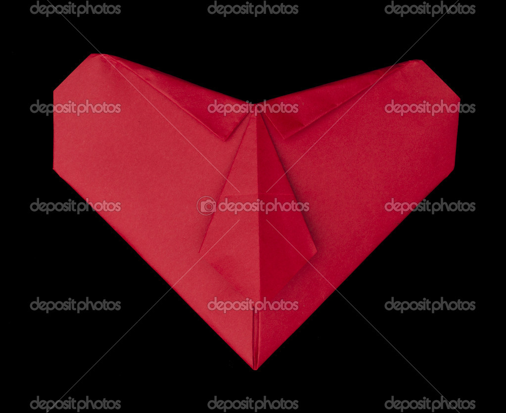 Heart paper made — Stock Photo #13853275