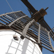 White ancient windmill — Stock Photo #14067474